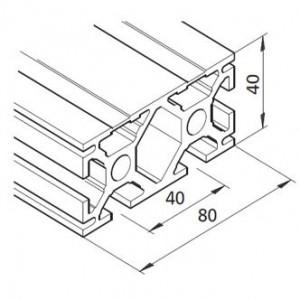 Profil mK-2040.22, L=5100mm