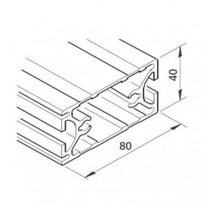 Profil mK-2040.24, L=5100mm