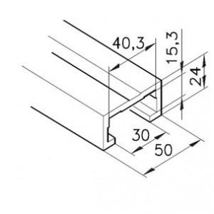 Profil mK-2040.37, L=x?x mm