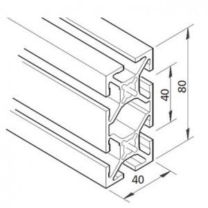 Profil mK-2040.41, L=5100mm