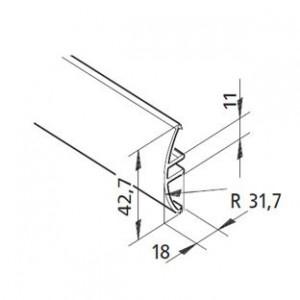 Profil mK-2040.43, L=5100mm