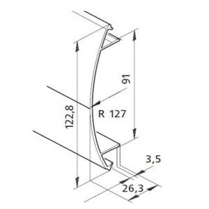 Profil mK-2040.44, L=5100mm
