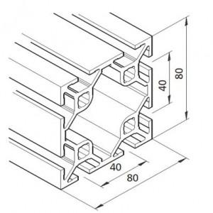 Profil mK-2040.45, L=6100mm