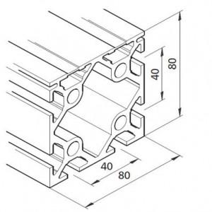 Profil mK-2040.46, L=5100mm