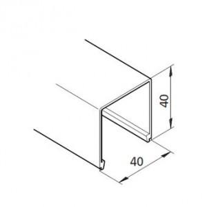 Profil mK-2040.50, L=x?x mm