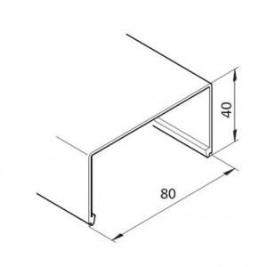 Profil mK-2040.51, L=x?x mm