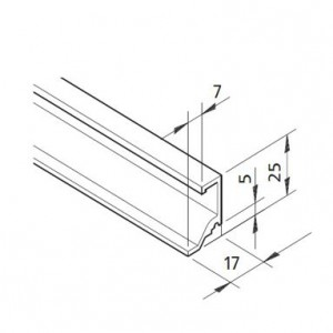 Profil mK-2040.81, L=5100mm