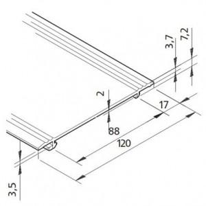 Profil mK-2040.85, L=5100mm