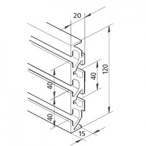 Profil mK-2040.86, L=x?x mm