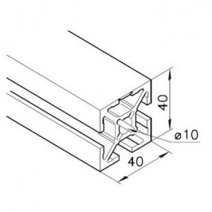 Profil mK-2040.92, L=5100mm