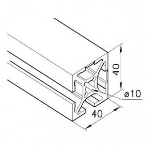 Profil mK-2040.93, L=5100mm
