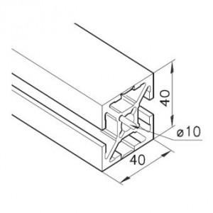 Profil mK-2040.94, L=5100mm