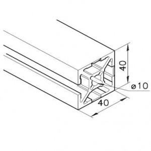 Profil mK-2040.95, L=5100mm