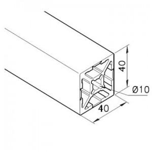 Profil mK-2040.96, L=5100mm