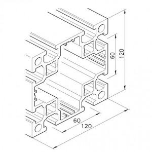 Profil mK-2060.05, L=5100mm