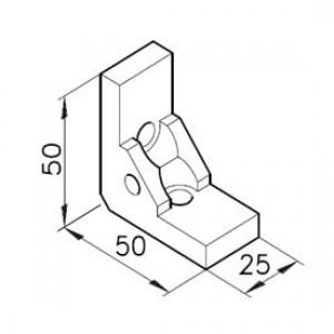 Winkelbausatz B25