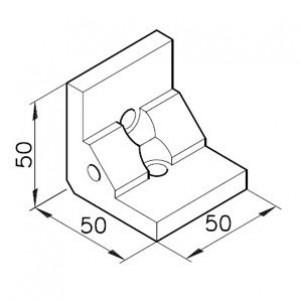 Winkelbausatz B50