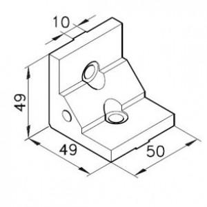 Winkelbausatz B50s2