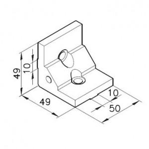 Winkelbausatz B50s3