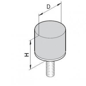 Puffer Typ D - M6x15