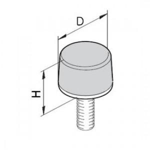 Puffer Typ K/D - M6x18