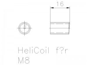 Helicoil M8