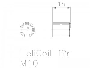 Helicoil M10