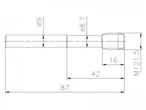Gewindebohrer M12x1,5