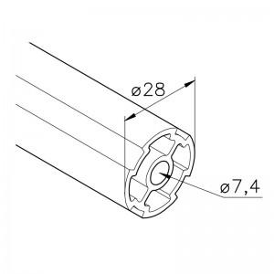 Profil mk 2279, L=5100 mm