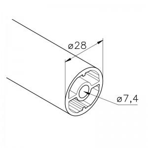 Profil mk 2280, L=5100 mm